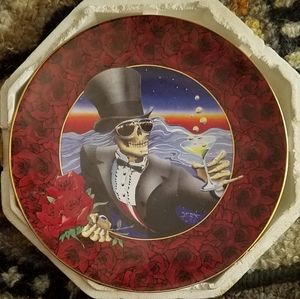 Greatful Dead, Stanley Mouse Collector plate